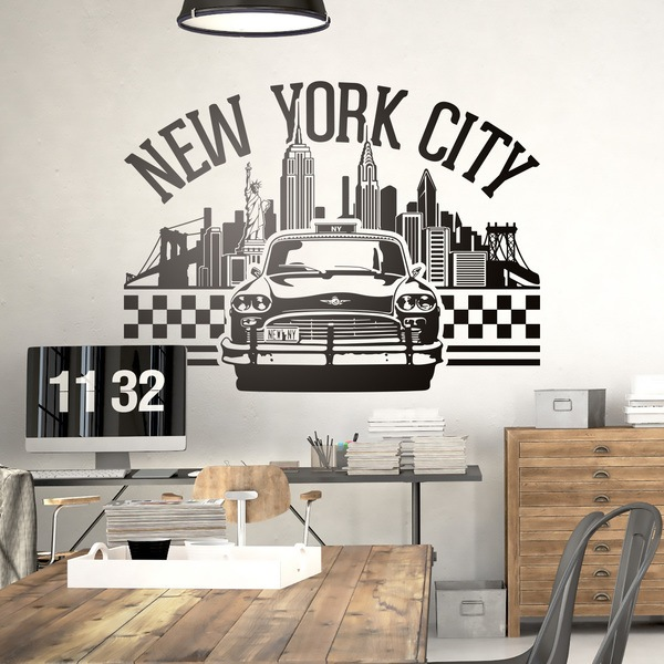Vinilos Decorativos: Iconos New York City 0