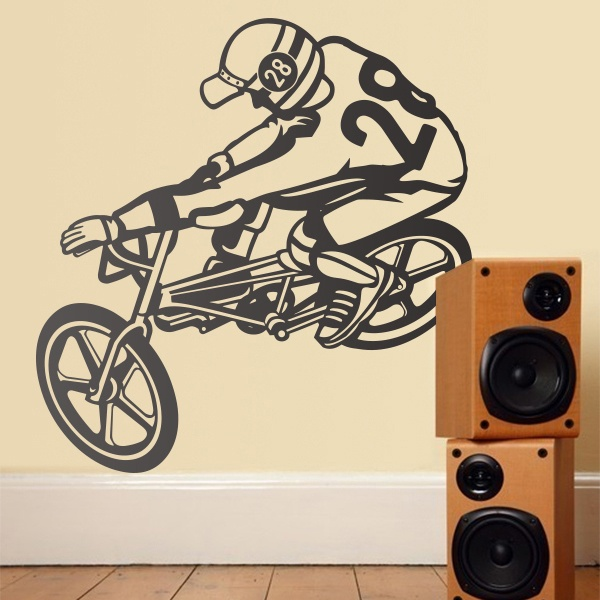Vinilos Decorativos: Bmx Freestyle