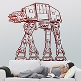 Vinilos Decorativos: AT-AT 2