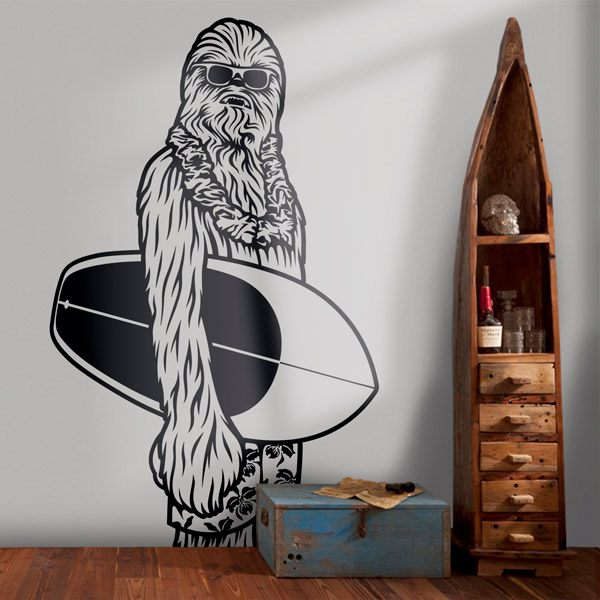 Vinilos Decorativos: Chewbacca California