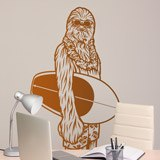 Vinilos Decorativos: Chewbacca California 3
