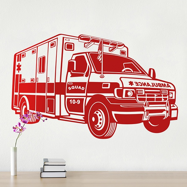 Vinilos Decorativos: Ambulancia 0