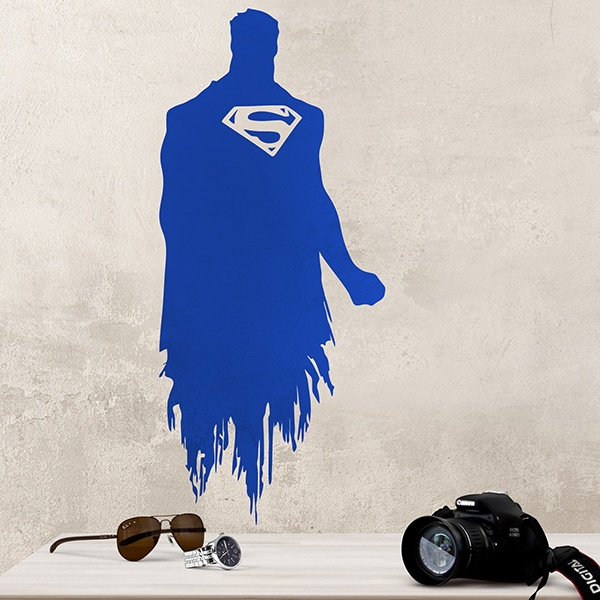 Vinilos Decorativos: Superman Silueta
