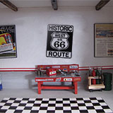 Vinilos Decorativos: Historic Route 66 3