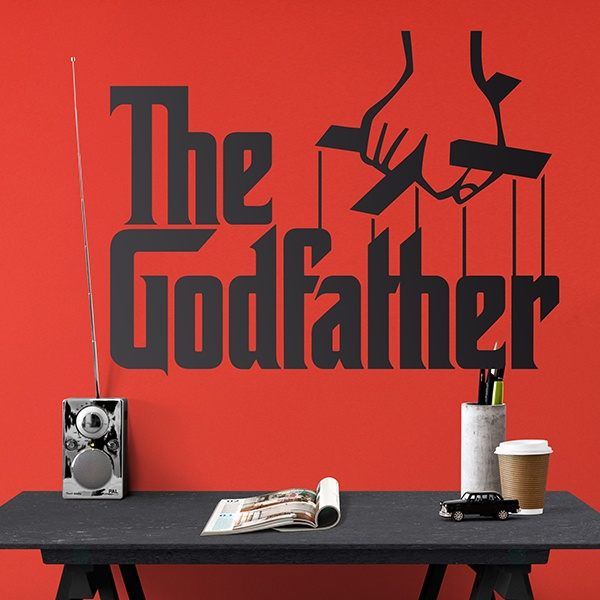 Vinilos Decorativos: The Godfather Logo