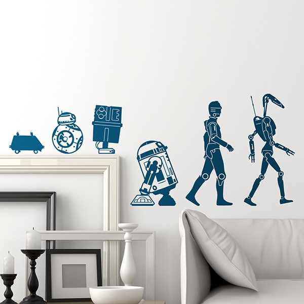 Vinilos Decorativos: Evolution Droide