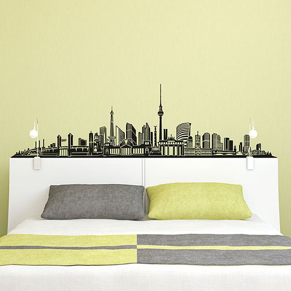 Vinilos Decorativos: Berlin Skyline