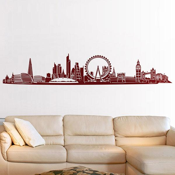 Vinilos Decorativos: Londres Skyline 2018