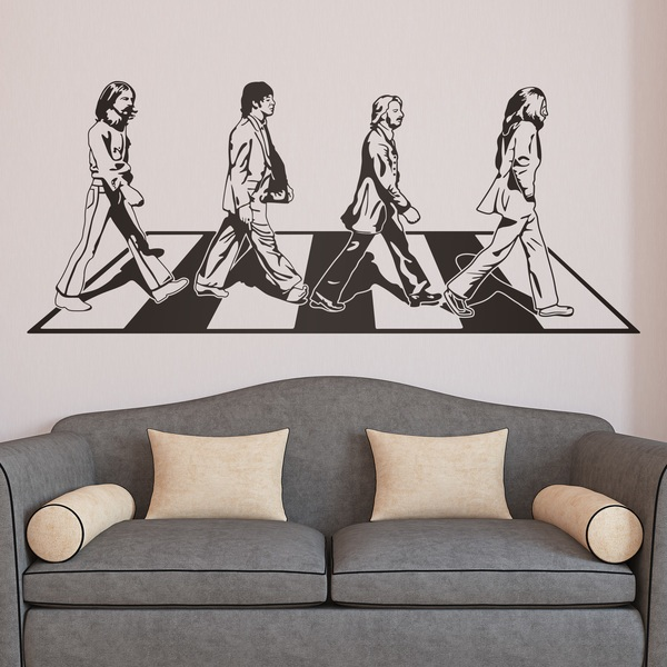 Vinilos Decorativos: Beatles en Abbey Road