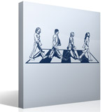 Vinilos Decorativos: Beatles en Abbey Road 2