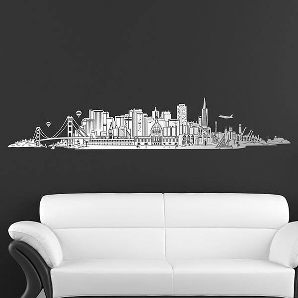 Vinilos Decorativos: San Francisco Skyline
