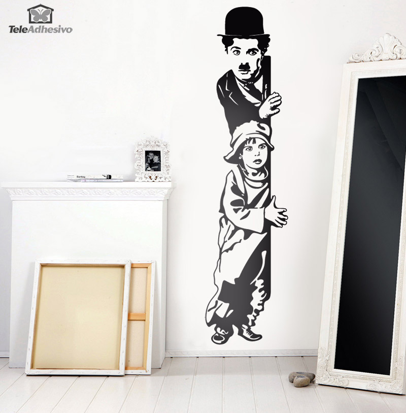 Vinilo decorativo chaplin the kid - Vinilos decorativos cine ...