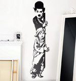 Vinilos Decorativos: Chaplin The Kid 2
