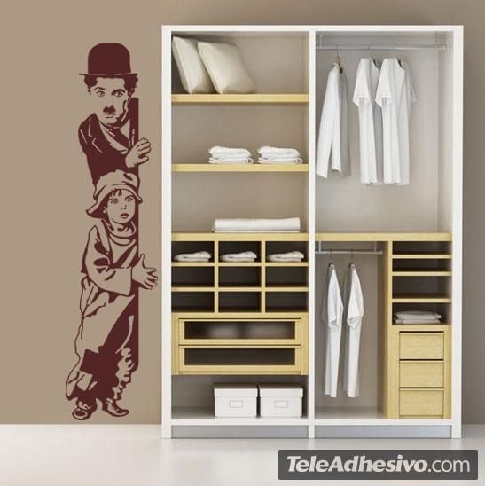 Vinilos Decorativos: Chaplin The Kid