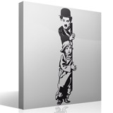 Vinilos Decorativos: Chaplin The Kid 5