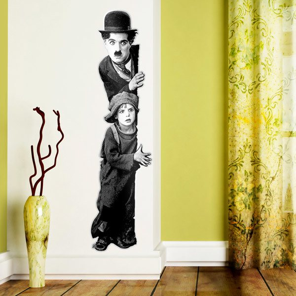 Vinilos Decorativos: Charlot, The Kid