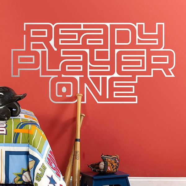 Vinilos Decorativos: Ready Player One