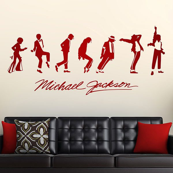Vinilos Decorativos: Michael Jackson Evolution