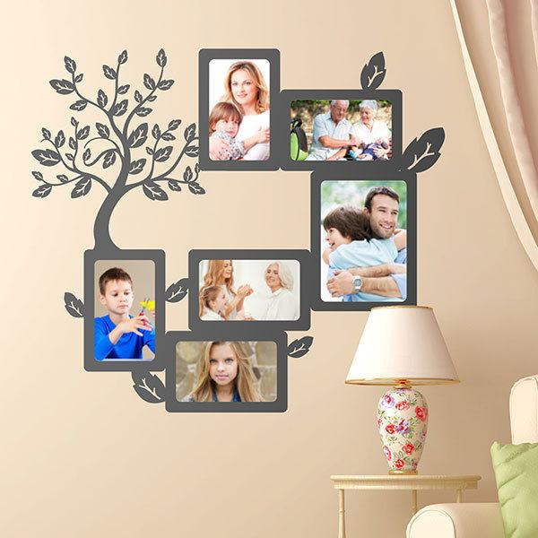 Vinilo Decorativo árbol Genealógico Para Fotos Teleadhesivocom