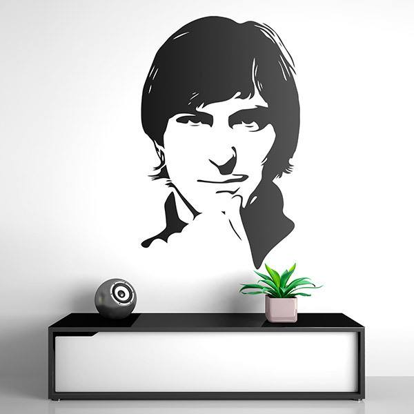 Vinilos Decorativos: Steve Jobs estudiante