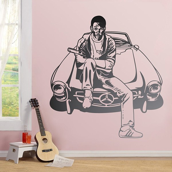 Vinilos Decorativos: Eddie Murphy Superdetective en Hollywood