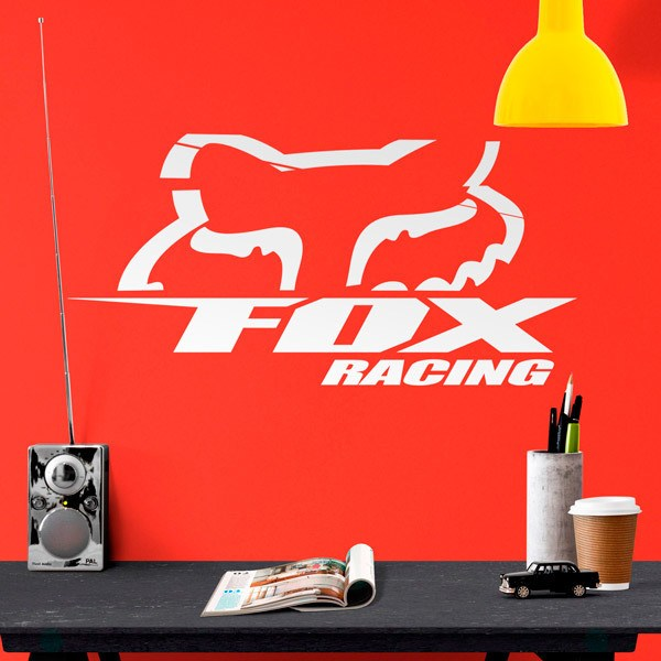 Vinilos Decorativos: Fox Racing 3.0
