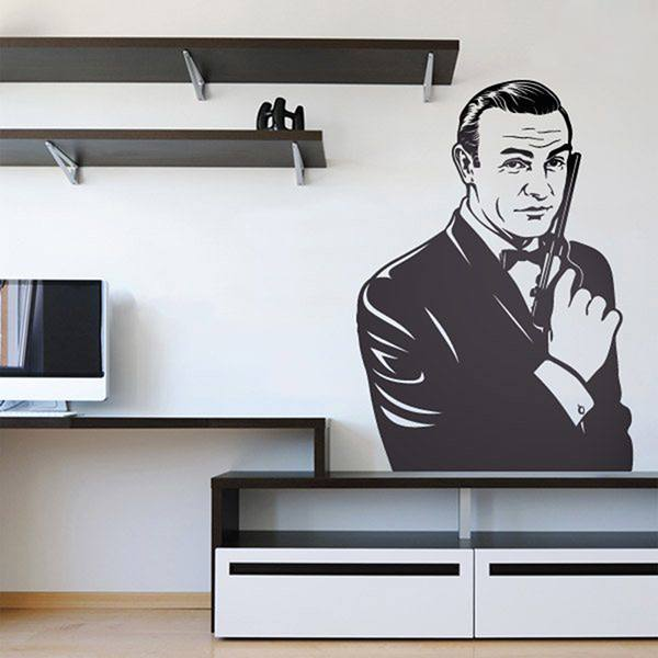 Vinilos Decorativos: Bond, James Bond