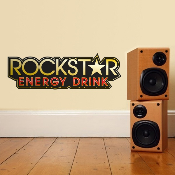 Vinilos Decorativos: Rockstar Energy Drink Bigger