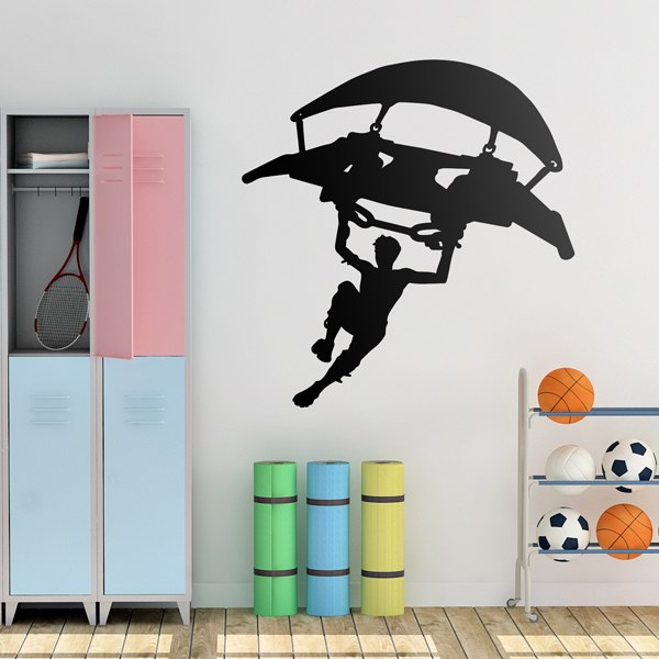 Vinilos Decorativos: Fortnite parapente Bigger