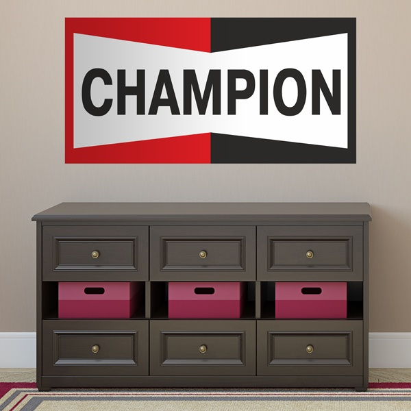 Vinilos Decorativos: Champion Bigger