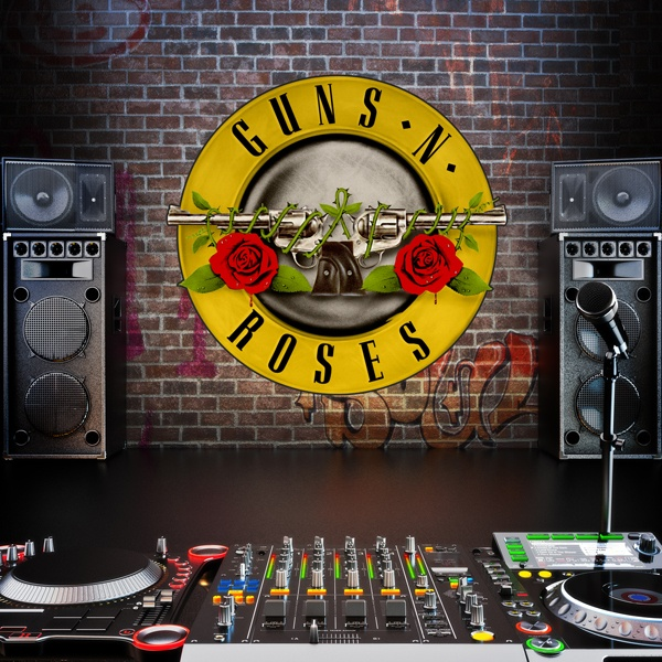 Vinilos Decorativos: Guns n Roses Bigger