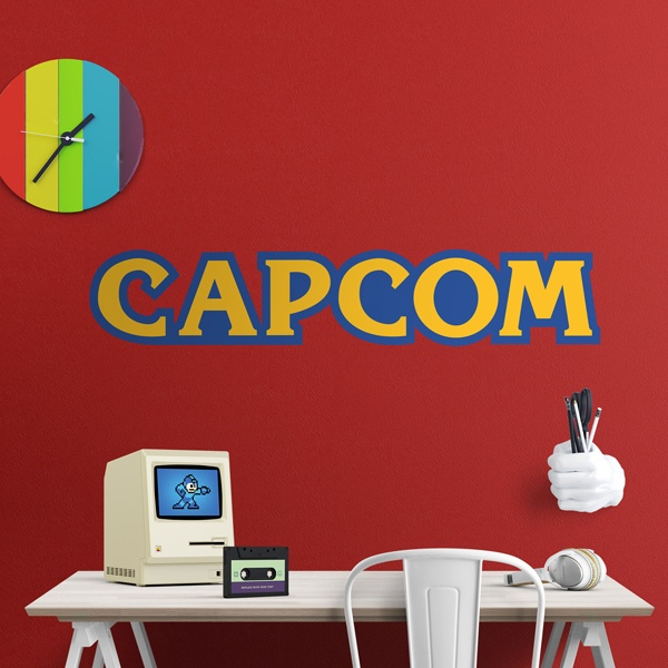 Vinilos Decorativos: Capcom Bigger