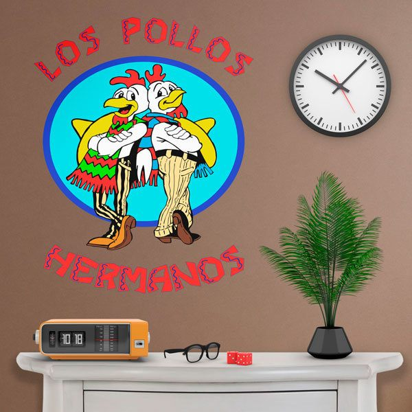 Vinilos Decorativos: Los Pollos Hermanos Breaking bad