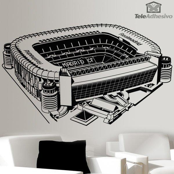 Estadio Santiago Bernab 233 U