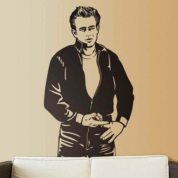 Vinilos Decorativos: James Dean Bomber 0