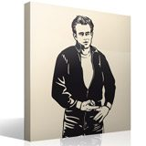 Vinilos Decorativos: James Dean Bomber 2