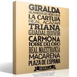 Vinilo decorativo tipogr fico sevilla - Teleadhesivo vinilos decorativos espana ...