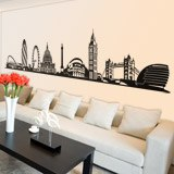 Vinilos Decorativos: Skyline de Londres 3