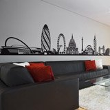 Vinilos Decorativos: Skyline de Londres 4