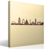 Vinilos Decorativos: Skyline de Londres 5