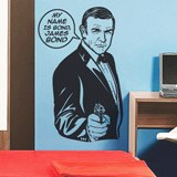 Vinilos Decorativos: My name is Bond, James Bond 2