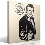 Vinilos Decorativos: My name is Bond, James Bond 3