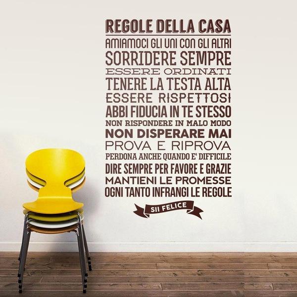 Vinilos de frases en italiano for Vinilos decorativos sobre musica