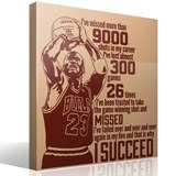 Vinilos Decorativos: The success of Michael Jordan 3