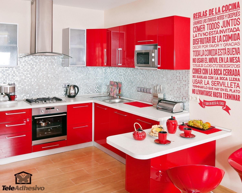 Vinilos decoracion cocina - Decoracion pared cocina ...