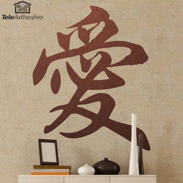 Símbolo chino amor