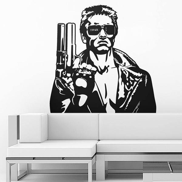 Vinilo decorativo T-1000 Terminator