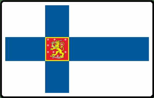 Resultado de imagen de bandera oficial estado finlandia