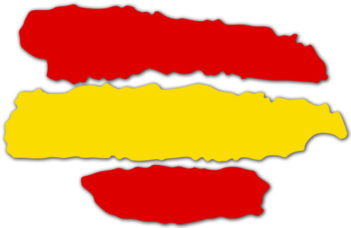 Vinilo decorativo con la bandera de espa a teleadhesivo - Teleadhesivo vinilos decorativos espana ...
