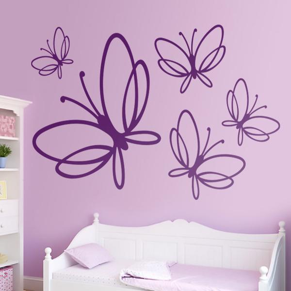 vinilos decorativos mariposas noltea